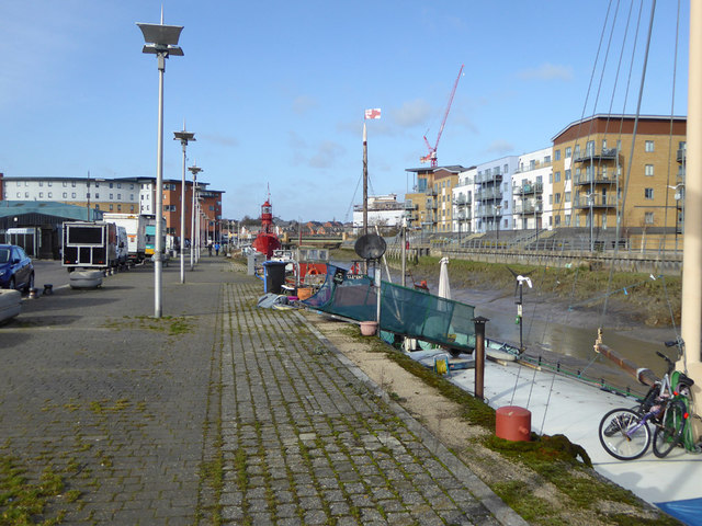 King Edward Quay, The Hythe, Colchester