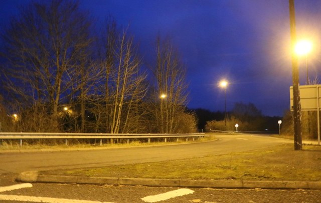 Roundabout on the A4133, Droitwich