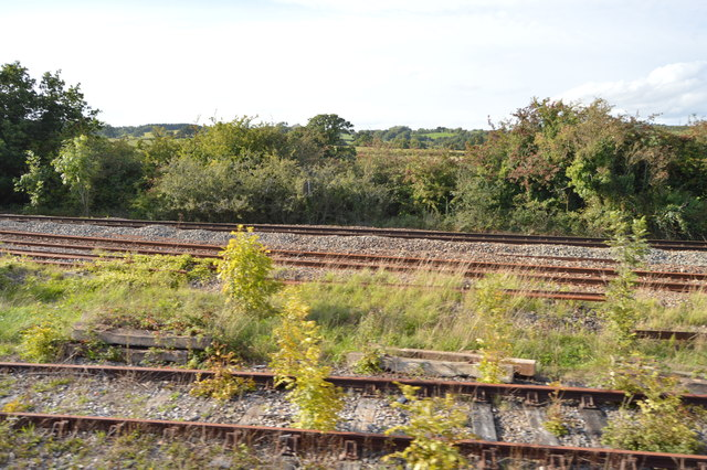 Railway junction, Witham Friary