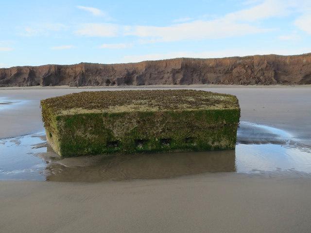 Pillbox on the beach