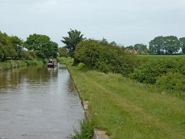 Shropshire Union Canal near Cox Bank, Cheshire