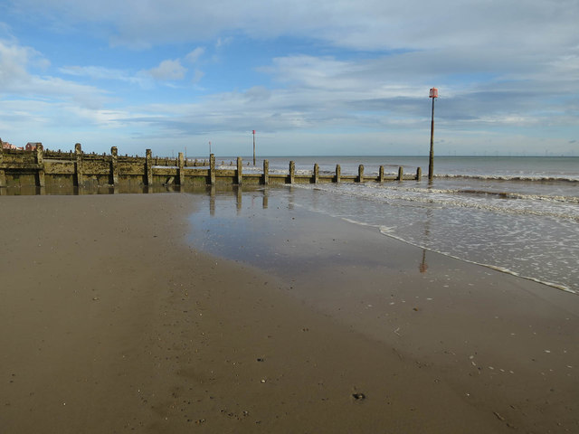 Southernmost groyne, Withernsea