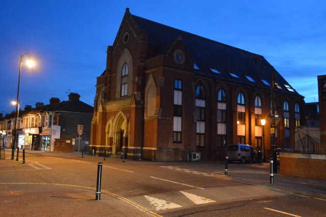 Former church, Rugby Rd