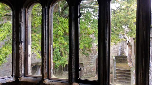 Windows in the Lord's Dayroom, Skipton Castle