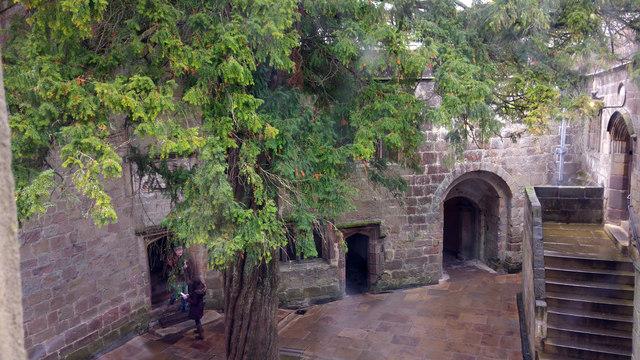 Conduit Court, Skipton Castle