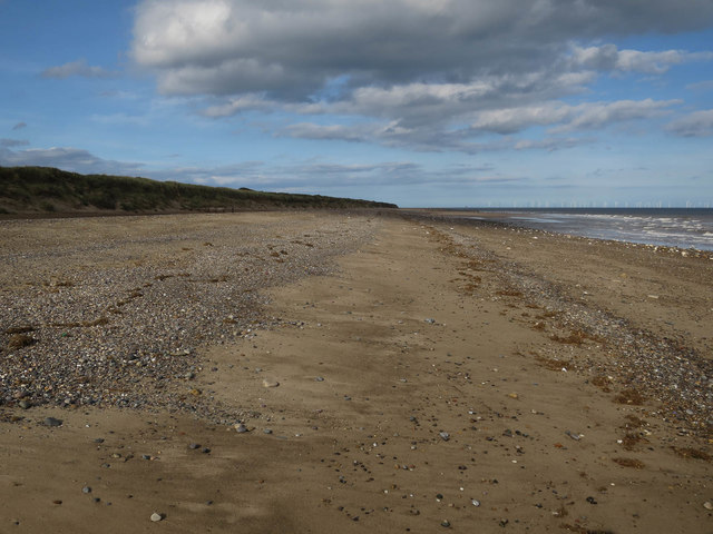 Beach on Spurn Point