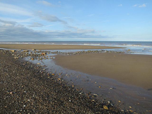 Beach at north end of Spurn Head
