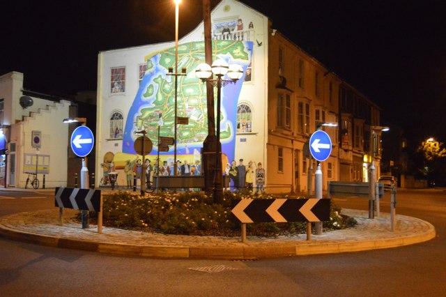Roundabout, B2155