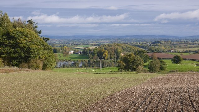 A view over Herefordshire
