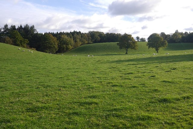 Glacial deposits, North Herefordshire