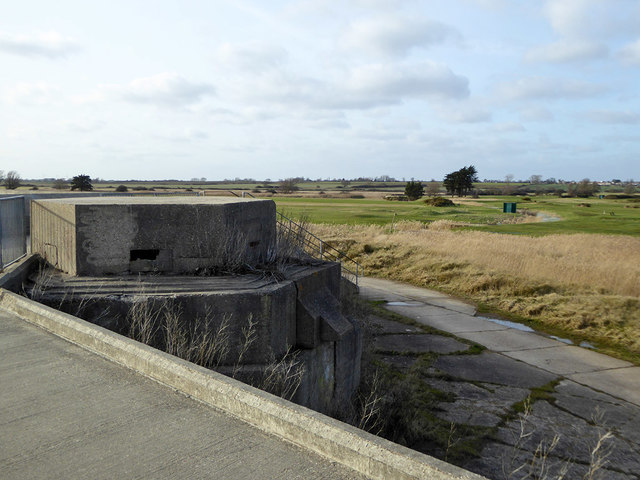 Pill box, Sandy Point