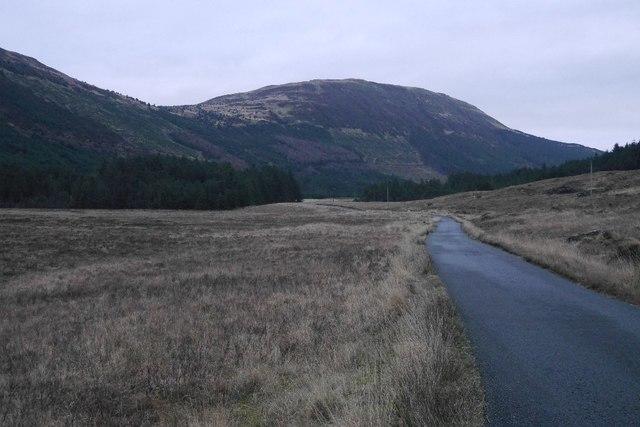 Road in Glen Brittle