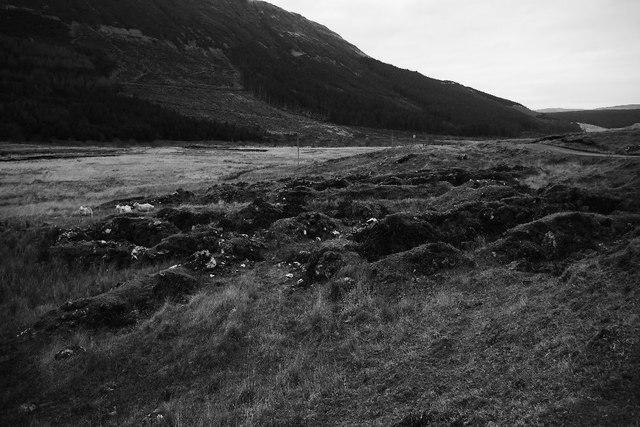 Ruins, Gleann Bhreatail/ Glen Brittle