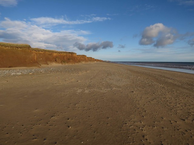Beach north of The Runnell