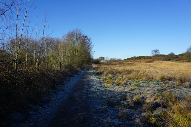 Spen Valley Heritage Trail towards East Bierley
