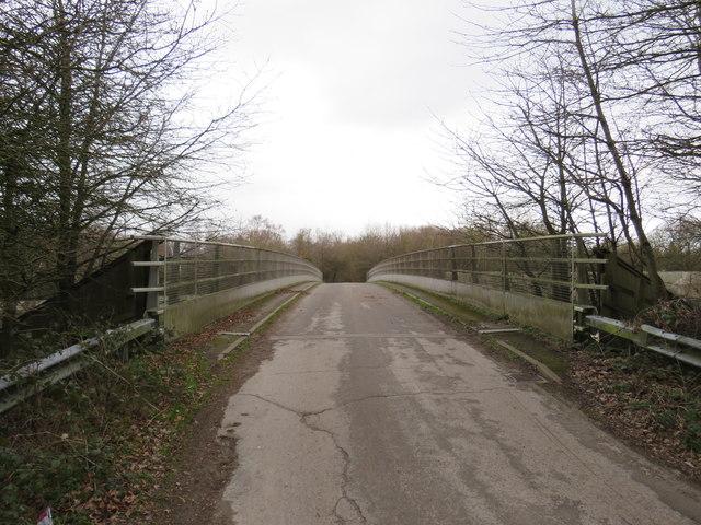 Bridge over the M25 near Reigate