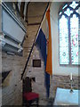 SO6263 : Flag of South Africa (1928-1994) inside St. Mary's Church (Chancel | Kyre) by Fabian Musto
