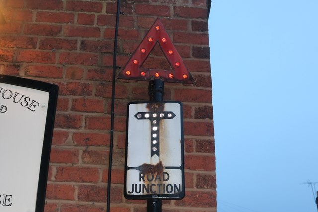 Pre-Worboys sign on Lichfield Street, Stourport