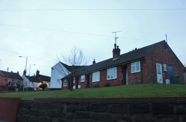 Bungalows on Mitton Road, Stourport