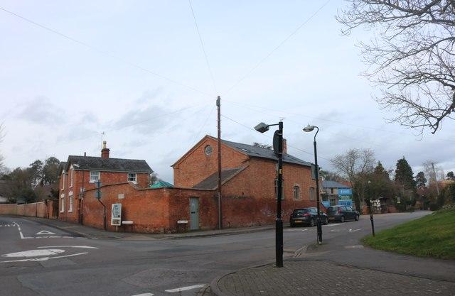 Crossroads in Shottery