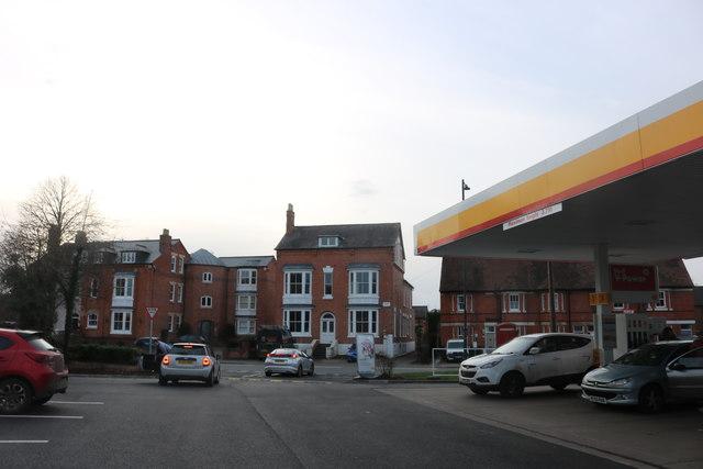 Petrol station on Shipston Road, Stratford-upon-Avon