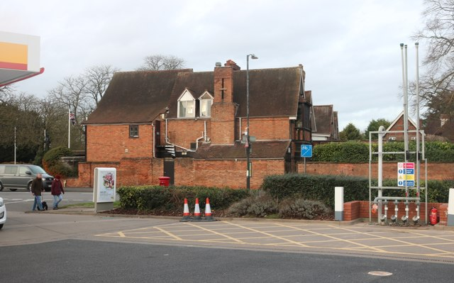 Petrol station on Shipston Road, Stratford-upon-Avon