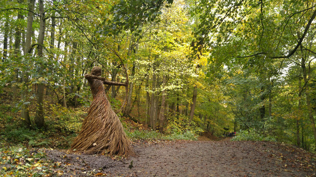 Willow Hunter at Skipton Castle Woods