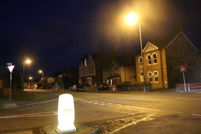 Worcester Road at the junction of Old Coach Road