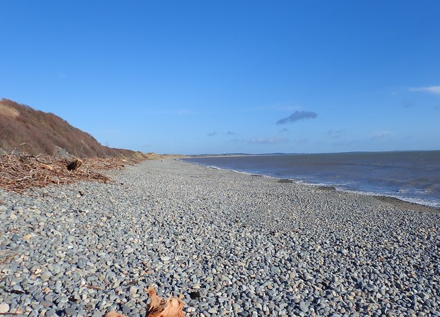 Shingle beach at Murlough