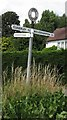 SO7995 : Old Direction Sign - Signpost by Milestone Society