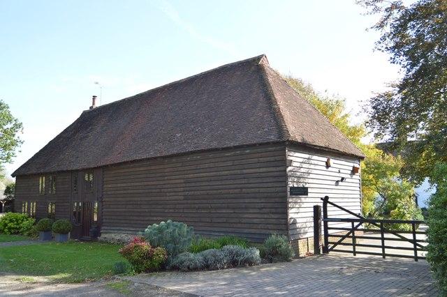 Converted barn, Buckman Green Farm