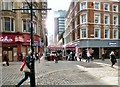SJ8498 : Corner of Spring Gardens and Market Street by Gerald England