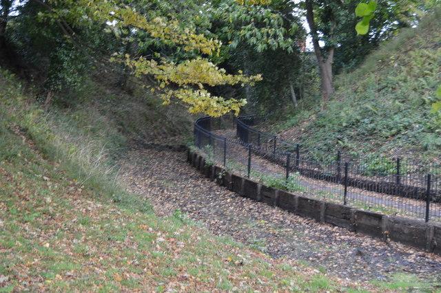 Moat, Tonbridge Castle