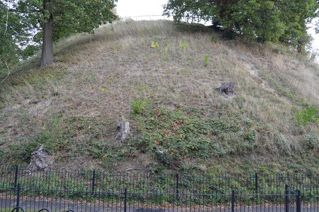 Motte, Tonbridge Castle
