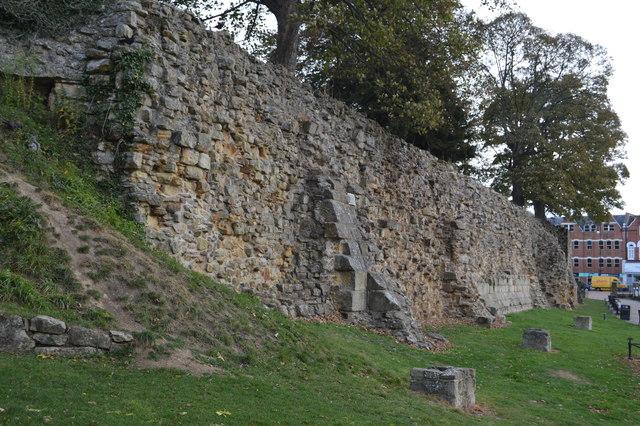 Curtain Wall, Tonbridge Castle