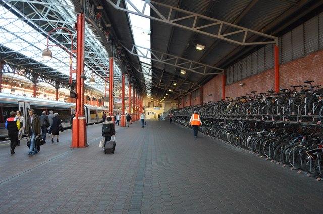 Bike racks, Marylebone Station