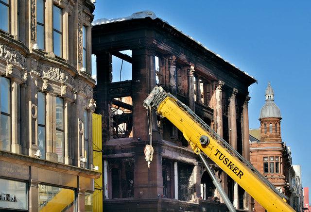 Primark (Bank Buildings) fire, Belfast - February 2019(2)
