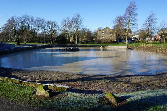 Pond at East Bierley