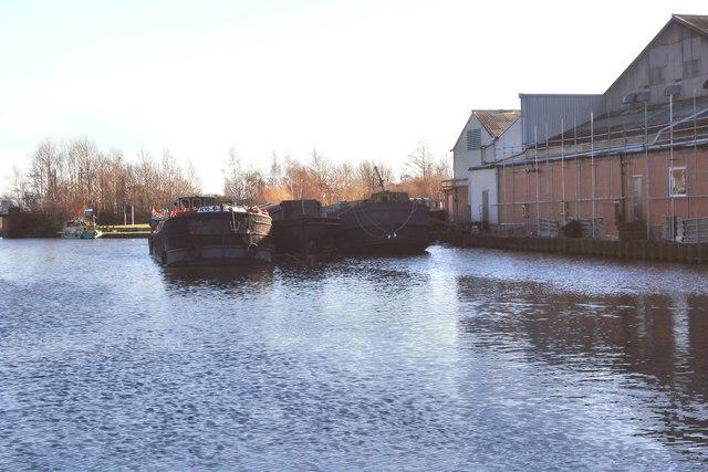Old Barges awaiting repair/renovation