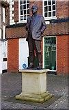 SO7875 : Statue of Stanley Baldwin (1), Load Street, Bewdley, Worcs by P L Chadwick