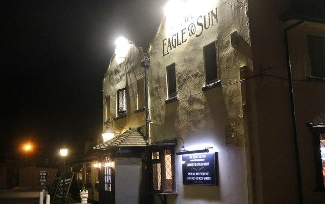 The Eagle & Sun pub, Droitwich