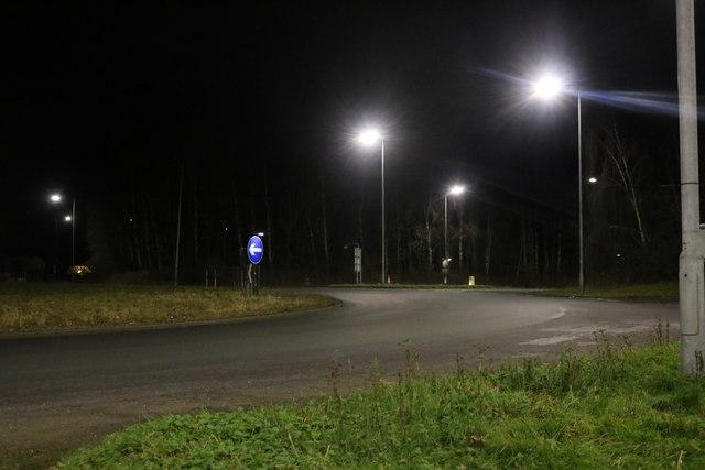 Roundabout on Alcester Heath