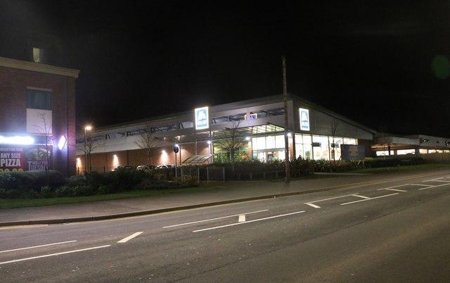 Aldi on Birmingham Road, Stratford-upon-Avon