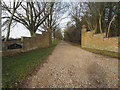 TF9104 : Entrance to Park Farm by David Pashley