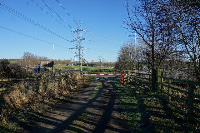 Spen Valley Heritage Trail towards Hunsworth Lane