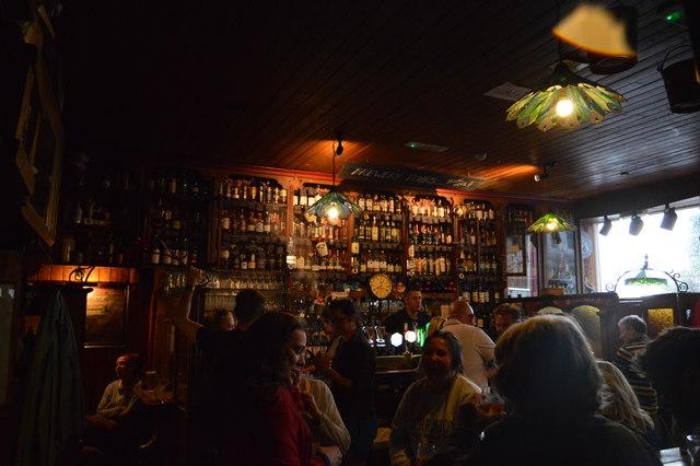 In Dick Mack's pub