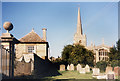 SU2199 : Lechlade Churchyard by Des Blenkinsopp