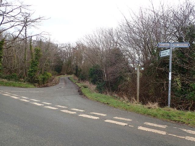 Offa's Dyke Path Off To Sodom © Eirian Evans :: Geograph