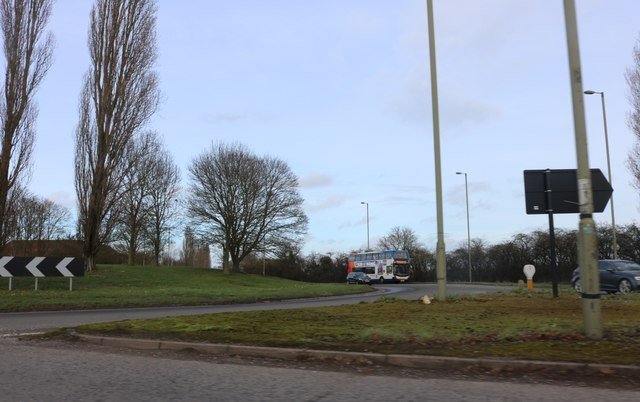 Roundabout on Oxford Road, Kidlington