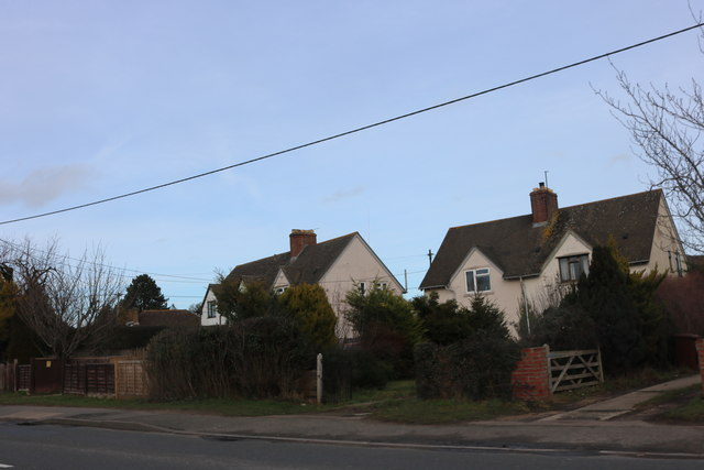 Houses on Banbury Road, Kidlington